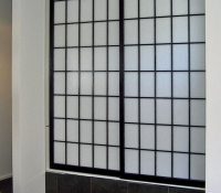 Custom Shoji Screen For En-Suite